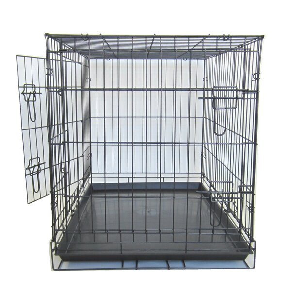 Double Door Pet Crate by YML