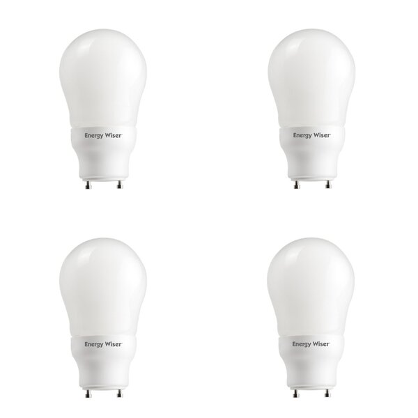 15W GU24 CFL Light Bulb Frosted (Set of 4) by Bulbrite Industries
