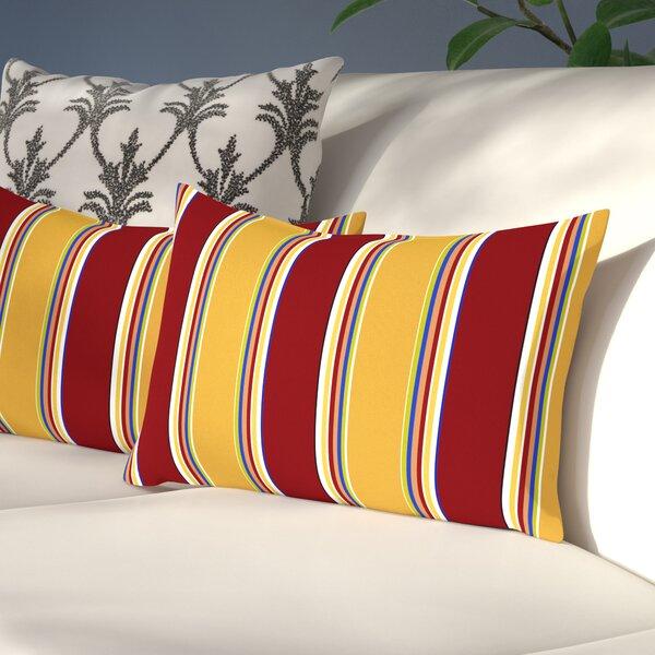 Henrich Outdoor Lumbar Pillow (Set of 2) by Andover Mills