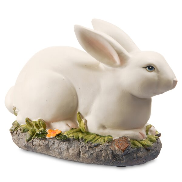 7.5 Resting Bunny Sculpture by National Tree Co.