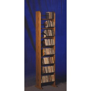208 CD Backless Dowel Multimedia Storage Rack