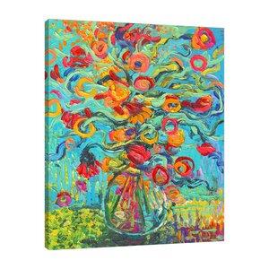 'Samara Chica' by Iris Scott Painting Print on Wrapped Canvas by Jaxson Rea