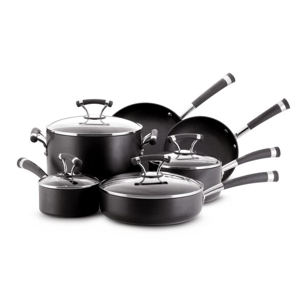 Contempo 10 Piece Non-Stick Cookware Set by Circulon