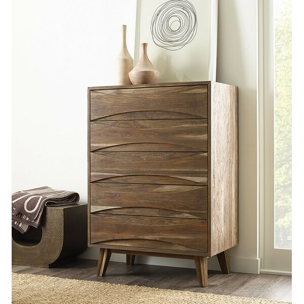 Crawford 5 Drawer Chest by Brownstone Furniture