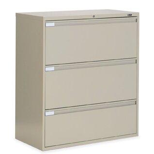 9300 Series 3-Drawer Vertical Filing Cabinet