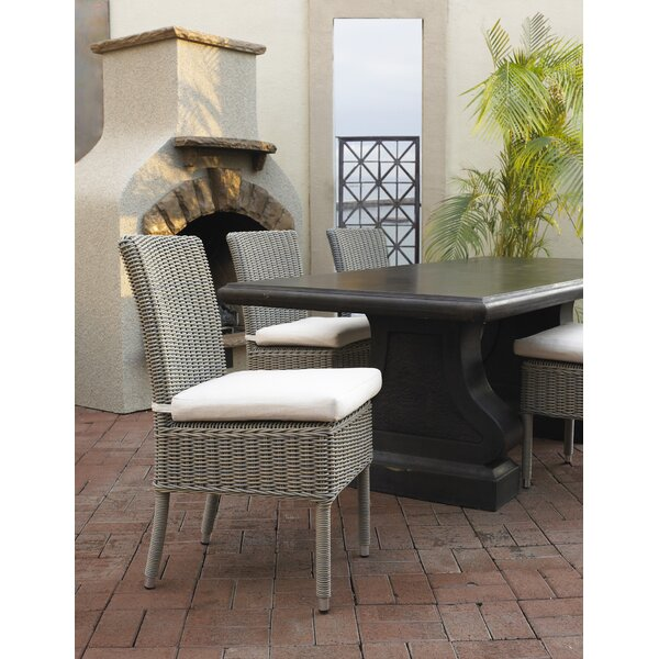 Outdoor Cottage Patio Dining Chair with Cushion by Padmas Plantation