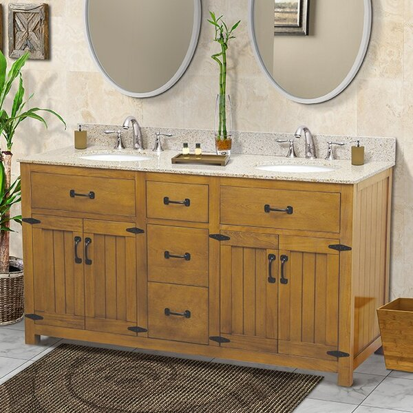 Countryside 60 Double Bathroom Vanity Set by DECOLAV