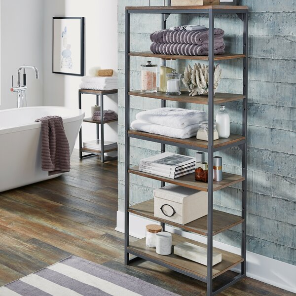 Eckles 24 W x 60 H Bathroom Shelf by 17 Stories