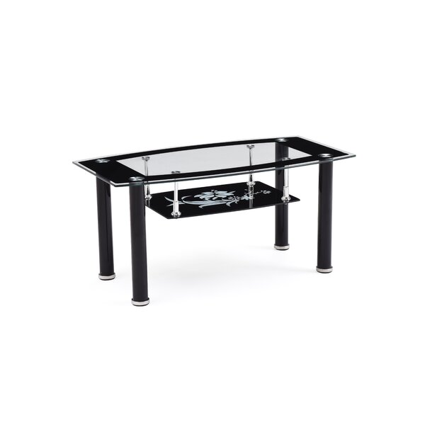 Striking Coffee Table by Hodedah