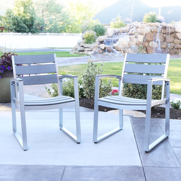 Salvatore Patio Dining Chair (Set of 2) by Wade Logan