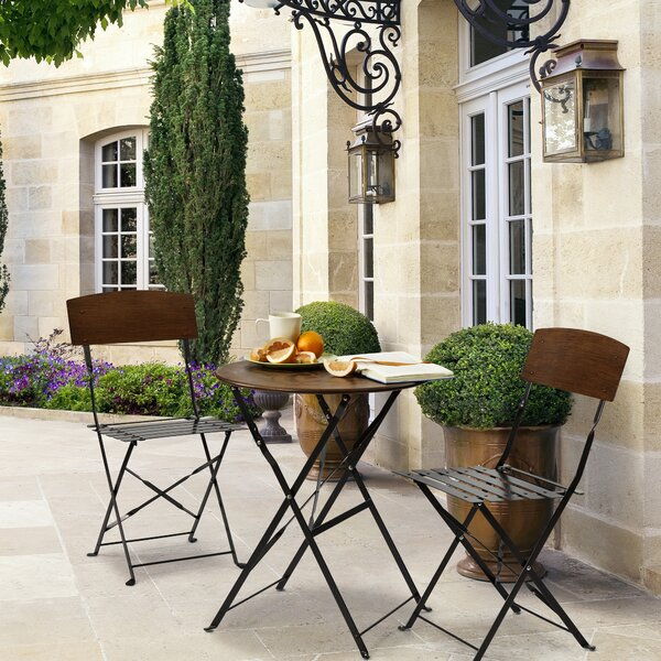 Lucia 3 Piece Bistro Set by Bombay Outdoors