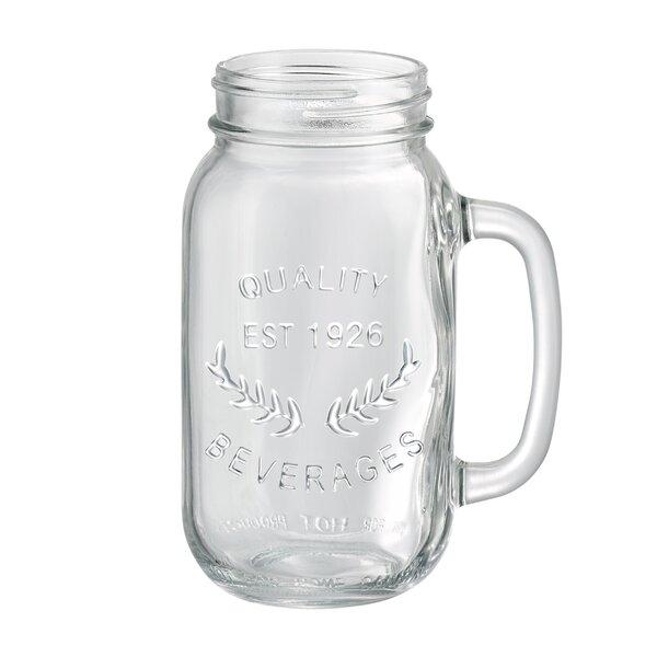 Corneau 22 oz. Mason Jar Mug (Set of 6) by Laurel Foundry Modern Farmhouse