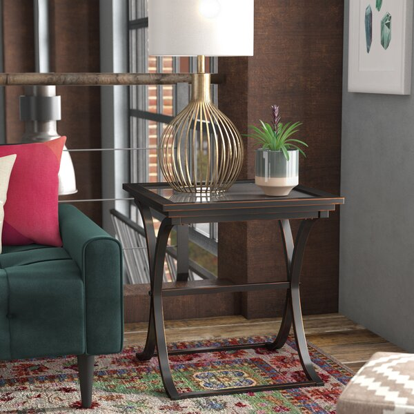 Rio End Table by Alcott Hill