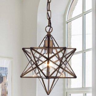 Moravian star light pendant wayfair shuler star 1 light pendant aloadofball Choice Image