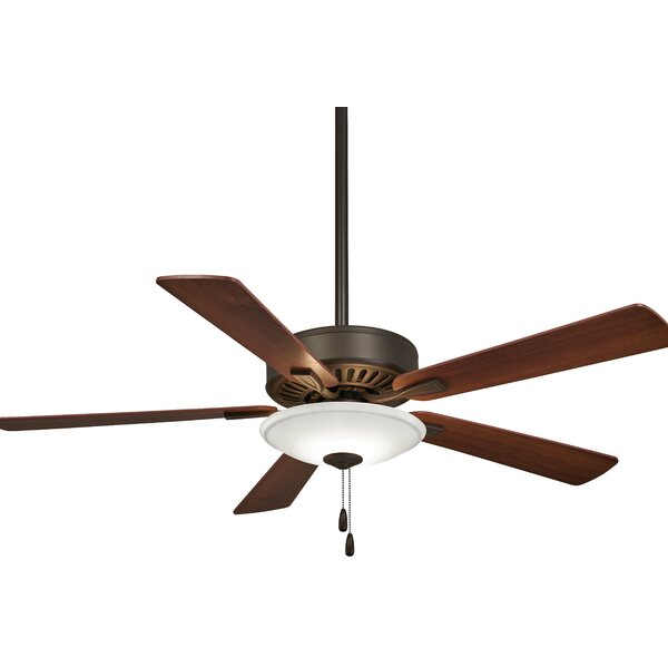 52 Contractor 5 Blade LED Ceiling Fan by Minka Aire