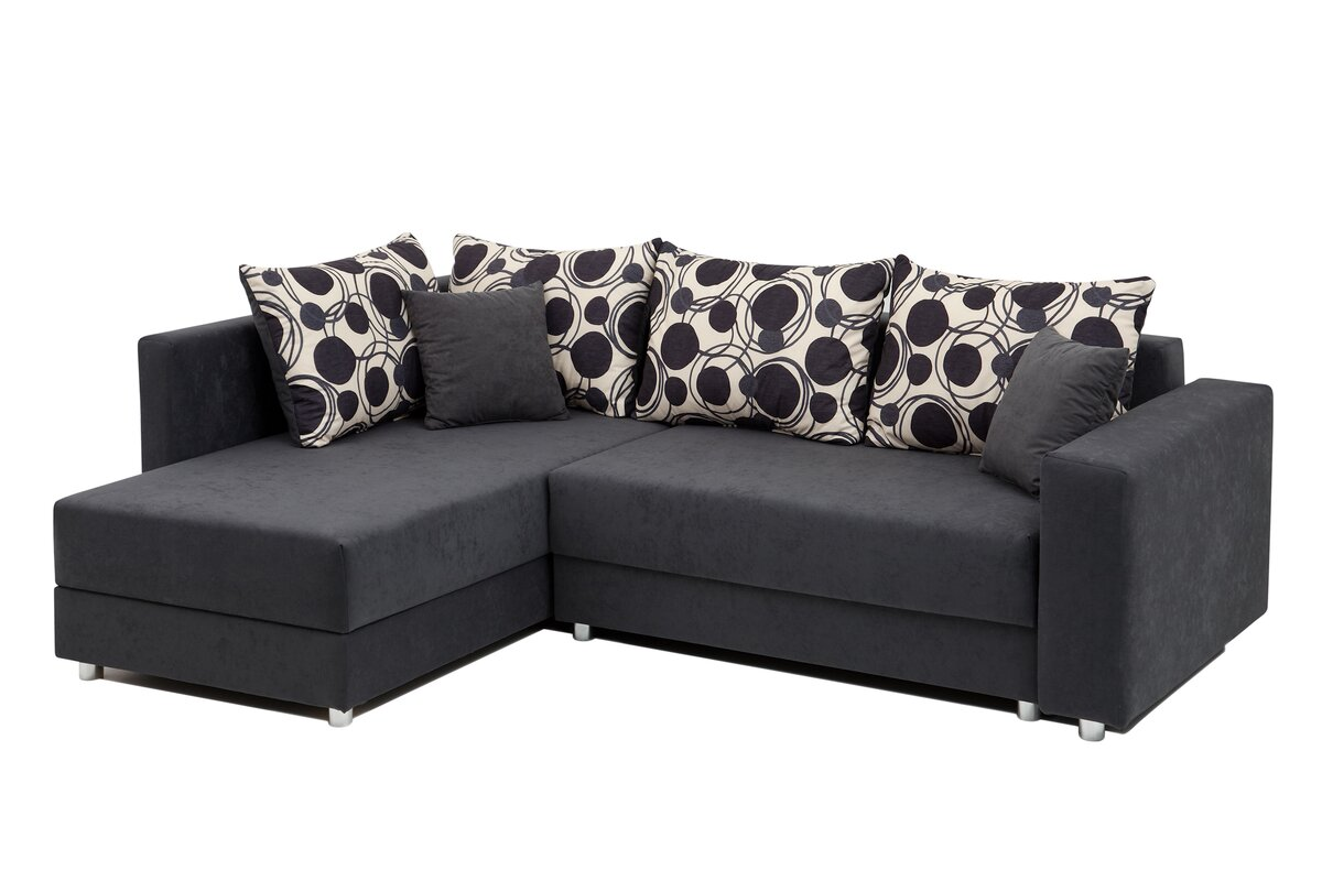 home haus ecksofa bakers mit bettfunktion. Black Bedroom Furniture Sets. Home Design Ideas