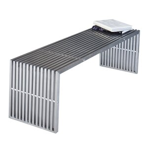 Lux Metal Bench by Wade Logan