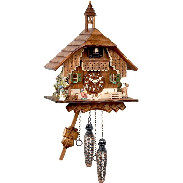Forest Cuckoo Clock by Alexander Taron