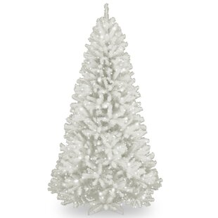 north valley white 75 spruce artificial christmas tree - White Christmas Trees On Sale