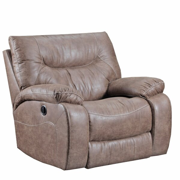 El Capitan Manual Rocker Recliner by Simmons Upholstery by Loon Peak