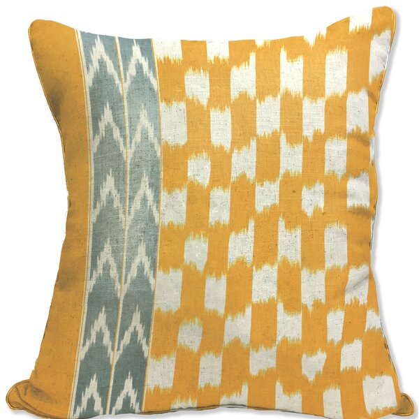 Donovan Decorative Cotton Throw Pillow by Homewear Linens