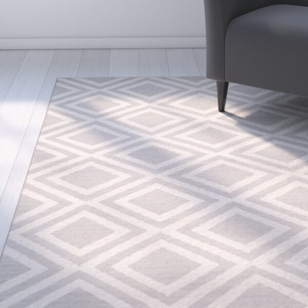 Brianna Grey/Ivory Area Rug by Latitude Run