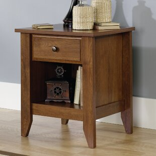 Review Revere 1 Drawer Nightstand by Andover Mills