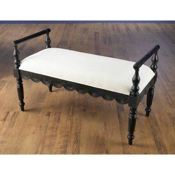 Aiyana Upholstered Bench by One Allium Way One Allium Way