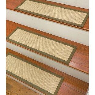 Degory Sisal Carpet Ivory Stair Tread (Set Of 13)
