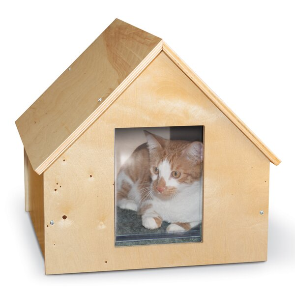 Manor Birchwood Thermo Kitty House (Unheated) by K&H Manufacturing