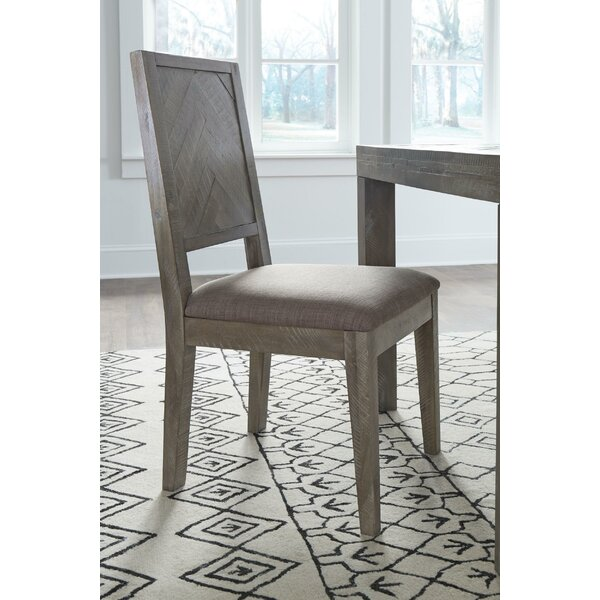 Ortego Solid Wood Dining Chair by Williston Forge