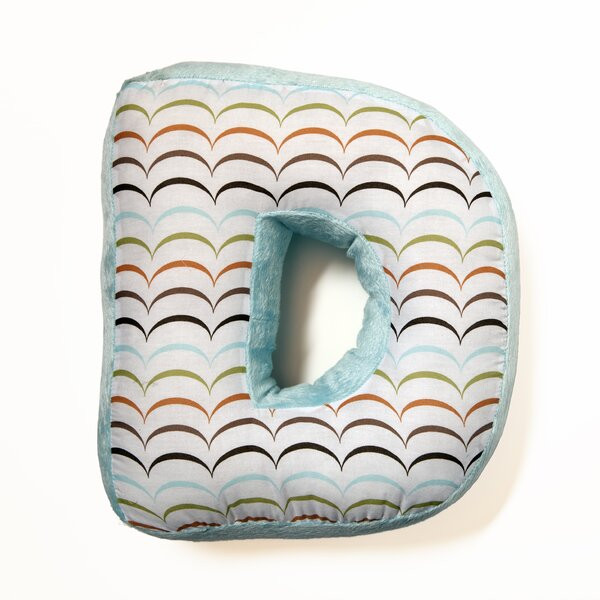 Ferndown Letter Throw Pillow by Zoomie Kids