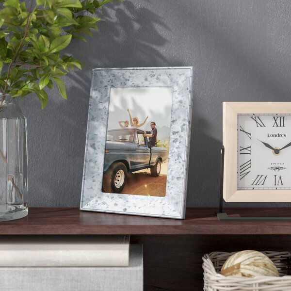Carlo Galvanized Metal Picture Frame by Williston Forge