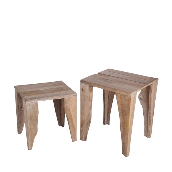 Wadsworth Solid Wood Nesting Tables By Union Rustic