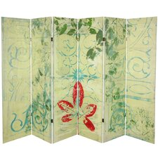 63 x 94.5 Garden Gate 6 Panel Room Divider by Oriental Furniture