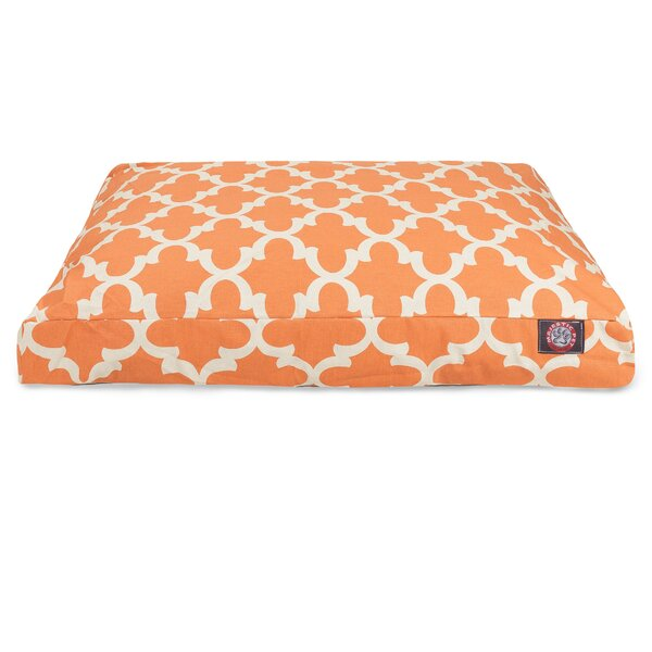 Trellis Rectangular Pillow Pet Bed by Majestic Pet Products