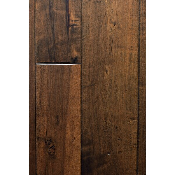 Hudson Bay Random Width Engineered Maple Hardwood Flooring in Labrador by Albero Valley
