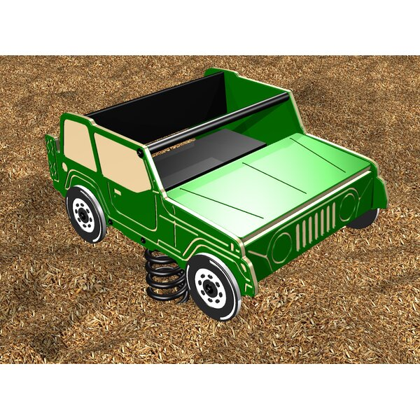2 Seater Spring Jeep by Kidstuff Playsystems, Inc.