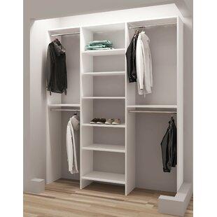 Read Reviews Demure Design 63W Closet System ByTidySquares Inc.
