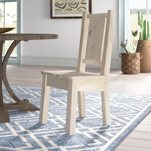 Abella Solid Wood Dining Chair By Loon Peak Best Design