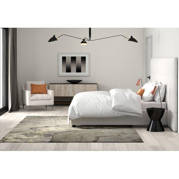 Bobb Upholstered Standard Bed by Orren Ellis