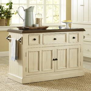 Kitchen Island Furniture rustic kitchen islands & carts - kitchen & dining furniture | wayfair