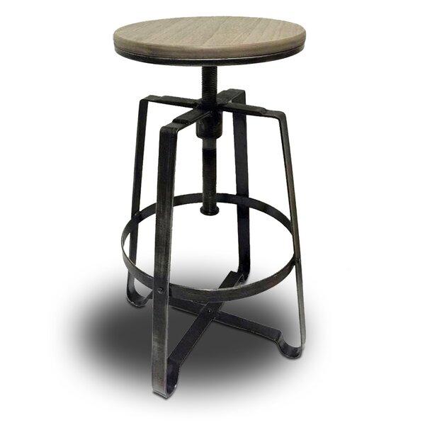 Turner Adjustable Height Bar Stool (Set of 2) by Vandue Corporation