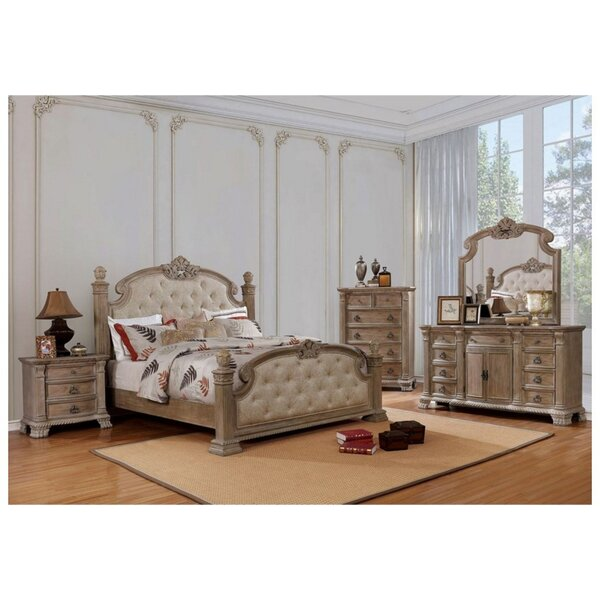Whitbeck Queen 5 Piece Bedroom Set by Astoria Grand