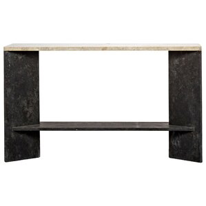 Anvil Marble Console Table by Noir