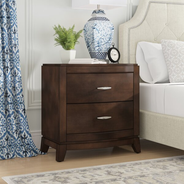 Loveryk 2 Drawer Nightstand by Darby Home Co