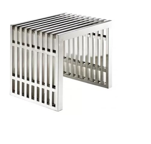 Paolucci Strips Metal Bench by Orren Ellis