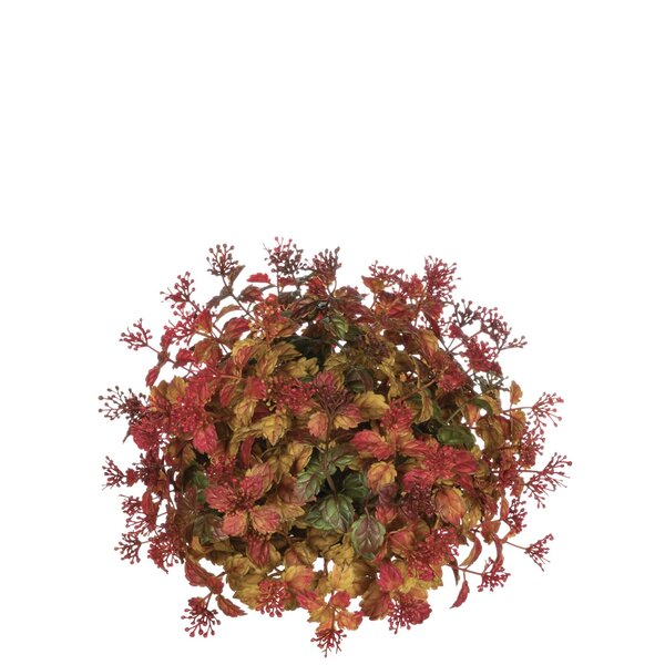 Leaf and Berry Half Orb Centerpiece (Set of 2) by Charlton Home