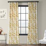Griner Quatrefoil Elegance Geometric Room Darkening Grommet Curtain Panels Allmodern