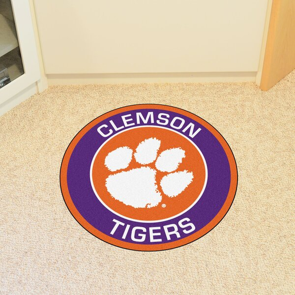 NCAA Clemson University Roundel Mat by FANMATS